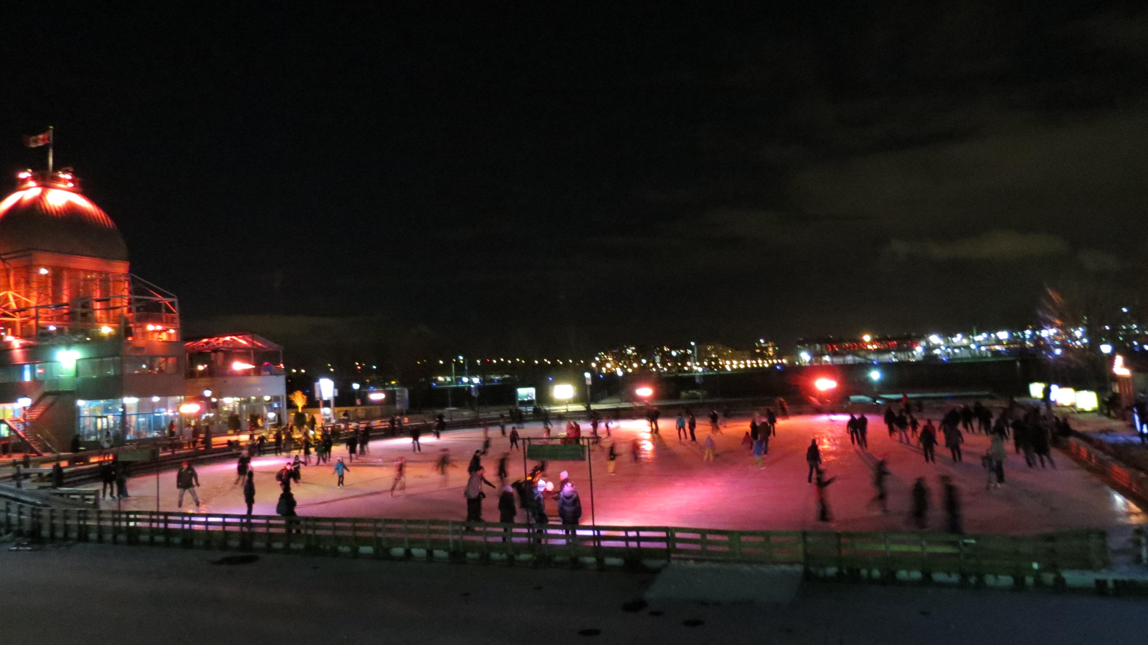 11 d cembre 2011 mon carnet de voyage for Patinoire exterieur montreal